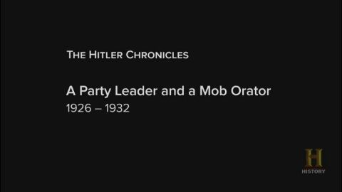 A Party Leader and a Mob Orator