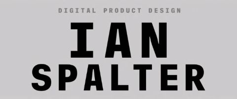 Ian Spalter: Digital Product Design