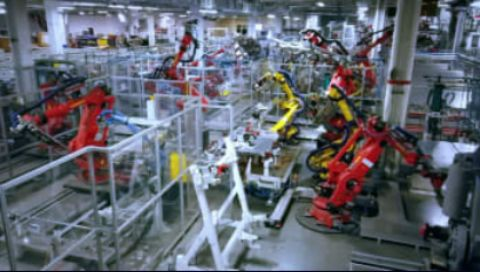 Inside the Tesla Gigafactory