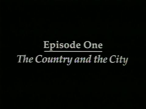 The Country and the City (1609-1825)