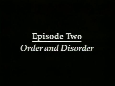 Order and Disorder (1825-1865)