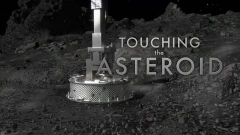 Touching the Asteroid