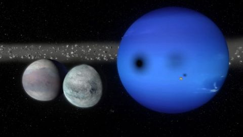 The Giant Ice Planets