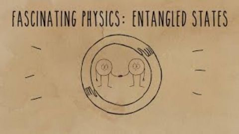 Einstein's brilliant mistake: Entangled states