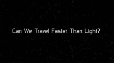 Can We Travel Faster than Light?