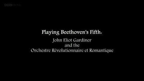 Playing Beethoven's Fifth