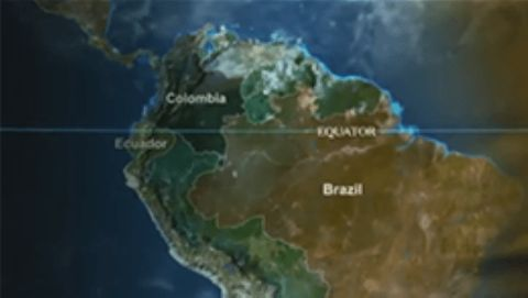 Map Of America Equator.Latin America Equator With Simon Reeve Watch Free Online