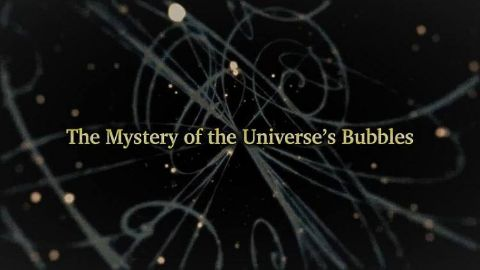 The Mystery of the Universe's Bubbles