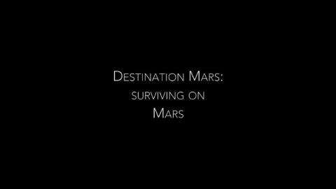 Surviving on Mars