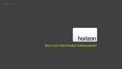 Why Can't We Predict Earthquakes