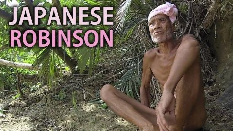 Masafumi Nagasaki | The naked Japanese alone on a desert island for 29 years